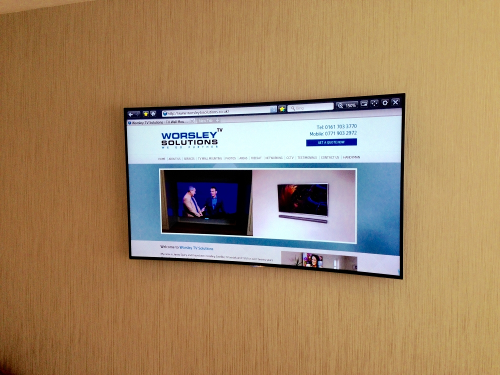 Tv installation and wall mounting blog samsung curved for Samsung tv wall mount